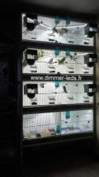 Batterie bois avec Éclairage Dimmer-leds Ref 005