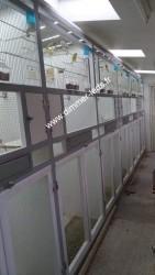 Volière aluminium avec Éclairage Dimmer-leds Ref 002