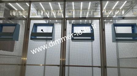 Volière aluminium avec Éclairage Dimmer-leds Ref 003