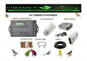 Kit Dimmer & Plafonniers (Qté 4)