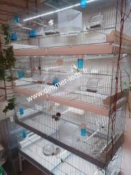 Batterie élevage Molinari avec Éclairage Dimmer-leds Ref 012