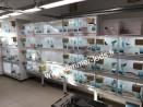 Batterie élevage Terenziani avec Éclairage Dimmer-leds Ref 036