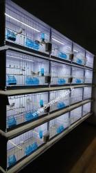 Batterie élevage NEW CANARIZ avec Éclairage Dimmer-leds Ref 006